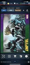 Topps Marvel collect Digital - Empyre Trailer Motion card #2 Super Rare