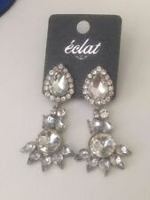 Glass Silver Plated Cubic Zirconia Fashion Jewellery