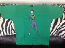 BATMAN spettacolo dal vivo T-SHIRT VERDE-Il Joker-Taglia Large-L