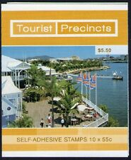 2008 AUSTRALIAN STAMP BOOKLET TOURIST PRECINCTS SOUTH BANK 10 x 55c STAMPS MUH