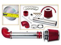 SPORT AIR INTAKE KIT + RED DRY FILTER FOR 97-03 Ford F150 Pickup 4.2L V6