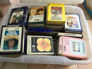 8 Track Tapes. 50 +.