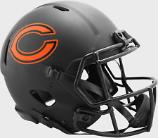 Chicago Bears Nfl Riddell Speed Authentic Football Helmet Eclipse