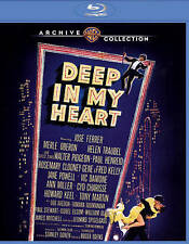 Deep in My Heart (Blu-ray, 2015) Fred Kelly. Cyd Charisse, MOD, Warner Archive