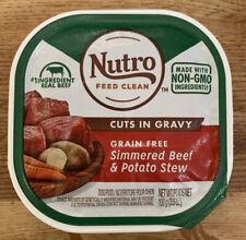 Nutro Cuts in Gravy Grain Free Wet Dog Food  & Puppy, 3.5 oz Trays Lot Of 24