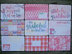"""'BETTER TOGETHER' PROJECT LIFE CARDS BY BECKY HIGGINS -6"""" X 4"""""""