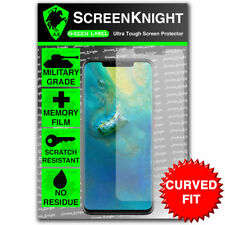 ScreenKnight Huawei Mate 20 Pro SCREEN PROTECTOR - Military Shield - Curved Fit
