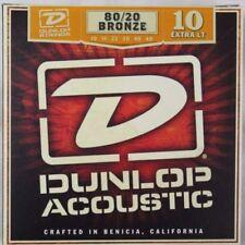 Corde per chitarra acustici marca Jim Dunlop per chitarre e bassi