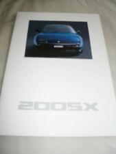 Nissan 200SX range brochure Oct 1990