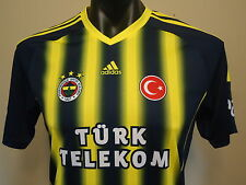 FENERBAHCE OFFICIAL LICENSED HOME JERSEY 13/14 XL BOYS NEW