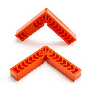 2X 6Inch 90 Degree Positioning Squares Clamping Angle Mini Corner Clamp Set of 2