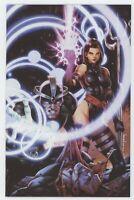 X-Men 8 Marvel 2020 NM Jay Anacleto Virgin Variant Psylocke GGA Jim Lee Homage