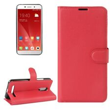 Cover Wallet Premium Red For ZTE Blade A602 Case Cover Pouch Protection NEW