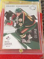 2003-04 Upper Deck Black Diamond #122 Marian Gaborik Minnesota Wild Hockey Card