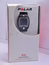 Polar FT1 Heart Rate Monitor Chest Strap Transmitter Black Clock Water Resistant