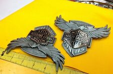🔥Genuine Harley 115th Anniversary Touring Softail Dyna Fuel Gas Tank Emblems