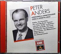 Opera & Operetta Arias by Peter Ander [W.Germany - Mono - EMI DRM - 1989] - MINT