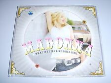 MADONNA - What It Feels Like For A Girl German 2001 Maverick promo CD