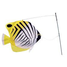 Threadfin Fish Swimming Fish Staked Bobber  Windsock..15.... PR 26506