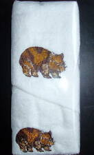 WOMBAT HAND TOWEL & FACE WASHER- BRAND NEW