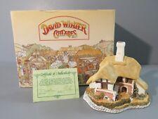 """1988 David Winter Cottages """"The Black Bess Inn"""" Figure / Sculpture - Piece # 3"""