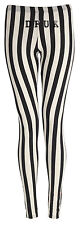 LADIES CELEB FULL LENGTH LEGGINGS JEGGINGS STRETCH CASUAL BLACK PANTS SIZE 8-22