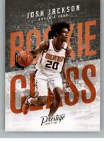 2017-18 Panini Prestige Rookie Class Inserts RC NBA Basketball Card Singles