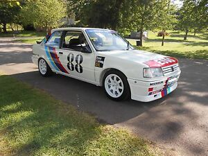 Peugeot 309 - Turbo Cup Decal Kit