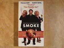 SMOKE WILLIAM HURT HARVEY KEITEL RARE! VHS 1ST EDITION RELEASE 1995 MIRAMAX