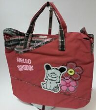 HELLO SPANK  BORSA DONNA / RAGAZZA FASHION BAG MOD. BRITISH ROSA ANTICO