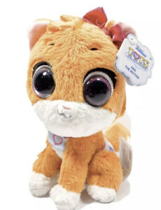 Disney Jr T.O.T.S. Bean Plush Mia the Kitten Stuffed Animal Plush Pal