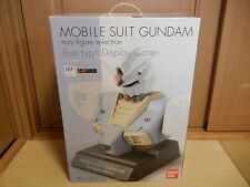 Awfully Rare!! Bandai 1/24 Gundam Mini Figure Selection Bust Type Display Case