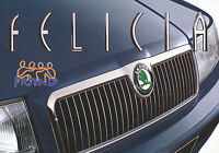 Skoda Felicia Friend Prospekt 1999 3/99 brochure Autoprospekt prospectus Auto