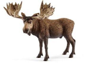 Schleich Wildlife Model - 14781 Moose Bull