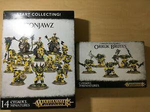 AOS Start Collecting Ironjawz + Brutes
