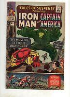 Tales of Suspense #69 1ST APP TITANIUM MAN! Iron Man Captain America 1965 VG 4.0