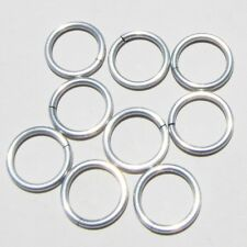 FROST Anodized Aluminum JUMP RINGS 250 1/4 18g SAW CUT Chainmail chain mail