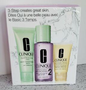 CLINIQUE 3-step introduction kit skin type 3 sampler