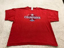 Philadelphia Phillies MLB World Series Champions T-Shirt Men's Size 2XL Red