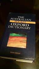 Australian pocket oxford dictionary 5th Edition