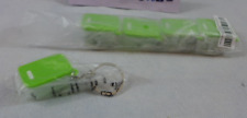 Tupperware Keychains Set of Five Fridgesmart Green Collectible Really Opens New