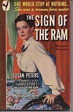 THE SIGN THE RAM by Margaret Ferguson, Bantam Book #158 Printed 1948