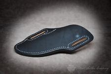 Adventure Sworn 'The Garrison' Custom Leather Crossdraw Bushcraft Sheath