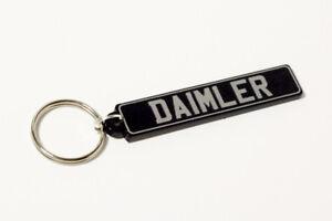 Daimler Keyring - UK Number Plate Classic Car Keytag / Keyfob
