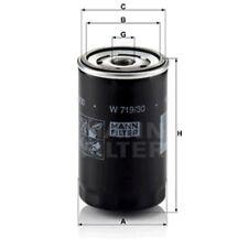 Mann Oil Filter Spin On For Audi 100 2.8 E 2.8 E quattro