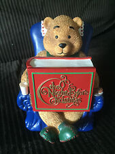Peek-a-Boo Mr. Christmas Lighted Animated Musical Collectible Music Box