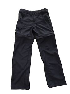 COLUMBIA Convertible zip off trail hiking camping Pants KIDS SIZE Small 7/8 EUC
