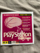 Official UK Playstation One Demo Game Disc 5 SCES-00183 Paper PAL PS1 Rare PS5