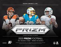2020 Panini Prizm Football No Huddle  NFL 1 Hobby Box Random Team Bonus Break