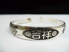 Tibet Tibetan Dragon Phoenix Cuff MANTRA Bracelet Feng Shui Jewelry LUCKY Bangle